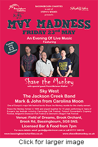 May Madness Flyer